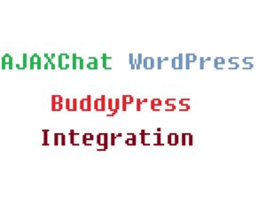 AJAXChat WordPress BuddyPress Integration